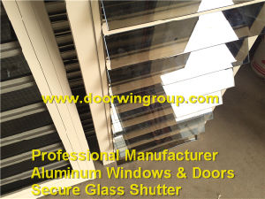Single Glazing Aluminum Secure Shutter Window pictures & photos