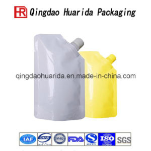 Stand up Laminated Material Liquid Spout Bag pictures & photos