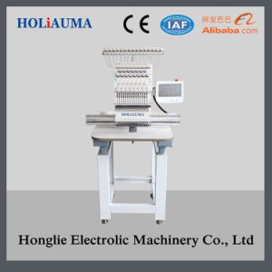 Newest Computerized Embroidery Machine Single Head for Cap/T-Shirt/Flat/3D/ Towel Embroidery pictures & photos