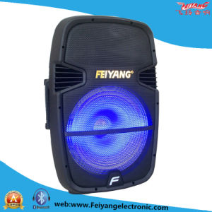 Feiyang Temeisheng Recharageable Battery Speaker Xc-23D with USB SD Card Blue Light pictures & photos