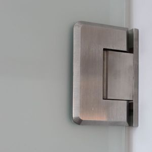 Brass Frameless Glass Shower Hinges (SHS. 90W. BR) pictures & photos