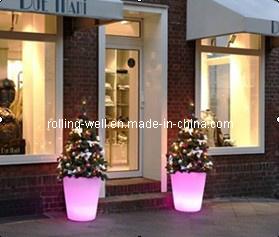 LED Flowerpots/ Christmas Decoration/Colorful Flower Pot
