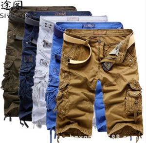 2014 Men Bermuda Garment Dyed Cargo Shorts pictures & photos