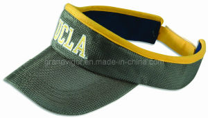 Mesh Sports Visor with Contrast Piping pictures & photos