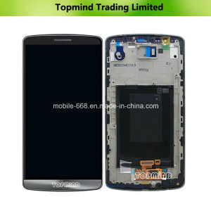 LCD for LG G3 D855 with Touch Screen with Front Housing pictures & photos