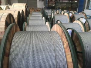 Standard ASTM B549 Aluminum Clad Steel Strand Wire (7*2.3mm) pictures & photos