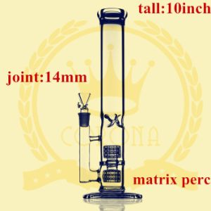 Double Matrix Perc Smoking Glass Water Pipe pictures & photos