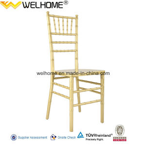 High Quality Stackable Wood Chiavari Silla Tiffany Wedding Chair pictures & photos