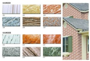 HD Digital Inkjet Facing Brick Tile/Exterior Wall Tiles pictures & photos