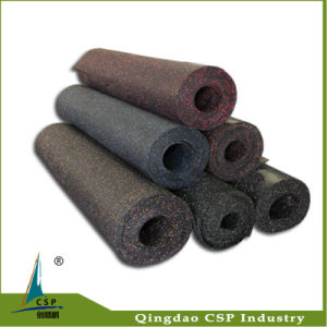 High Intensity Colorful EPDM Rubber Rolls for Gym Equipment