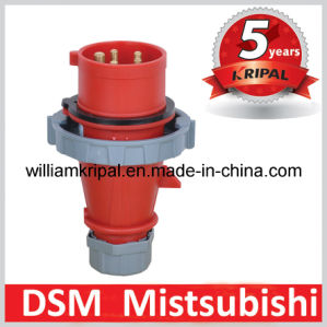 IP67 16A 3p+N+E Industrial Male Plug pictures & photos
