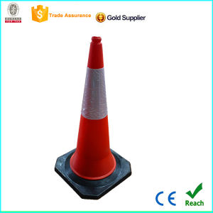 Low Factory Price 1m Plastic Traffic Cone with CE pictures & photos