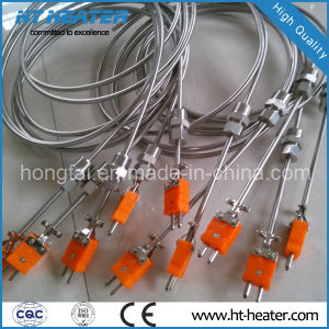 K Type Thermocouple Temperature Sensor with Standard Plug pictures & photos