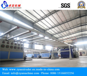 PVC Marble Machinery/PVC Artificial Marble Tile Production Line pictures & photos