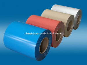 PE PVDF Color Coated Aluminium Coil