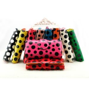 DOT PU Wallet for Girl or Female pictures & photos