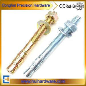 Zinc Plated Wedge Anchor Bolt with Washer pictures & photos