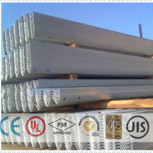 W Wave Zinc Coated Armco Safety Barriers for Security System pictures & photos
