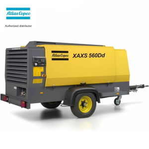 Xaxs560 Deutz Diesel Engine Portable Atlas Copco Screw Air Compressor