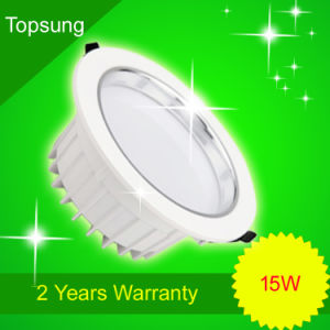 15W Auminium LED Downlight for Lighting