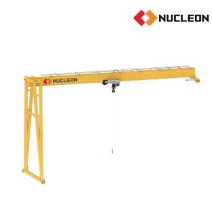 Newly Design Light Duty Semi Portal Gantry Crane 3 Ton pictures & photos