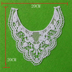 Fashion Hot Cotton Embroidery Cotton Lace Collar (cn106) pictures & photos