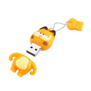 Cartoon Garfield USB Flash Drive Pen Drive 4GB 8GB 16GB 32GB USB 2.0 Memory Stick U Disk Flash Drive pictures & photos