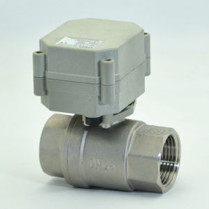 2 Way Stainless Steel Motorized Control Ball Valve (T25-S2-A) pictures & photos