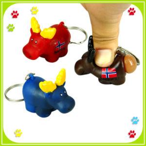 Moose Shitting Keychain
