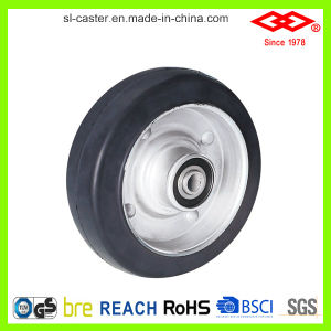 200mm Swivel with Side Brake Heavy Duty Castor Wheel (P701-11F200X45Z) pictures & photos