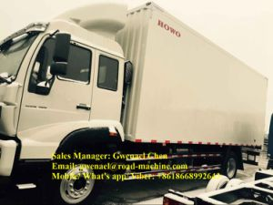 Sinotruk HOWO Refrigerator Truck Transport Meat/ Seafood -18degree