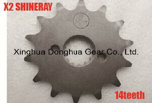 Front Chain Sprocket 14teeth 250cc Shineray X2 X2X pictures & photos