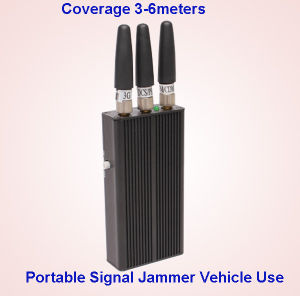 Vehicle Car Used Cellphone Jamming, Mobile Phone Signal Jammer