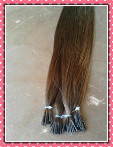 Remy Brazilian Hair Pre-Bonded Extension pictures & photos