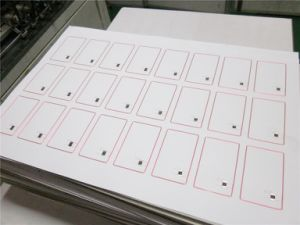 M1 Memory RFID Inlay 1k Smart Card pictures & photos