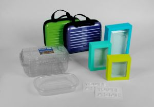 PP Plastic Folding Tray with Printing pictures & photos