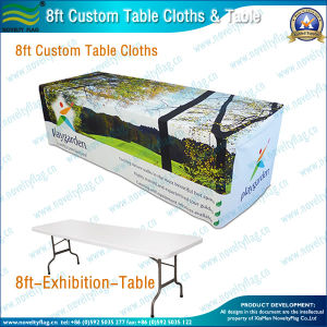 8ft Custom Table Cloth (B-NF18F05019) pictures & photos