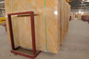 M729 Golden Emperador Marble Slab and Tile pictures & photos