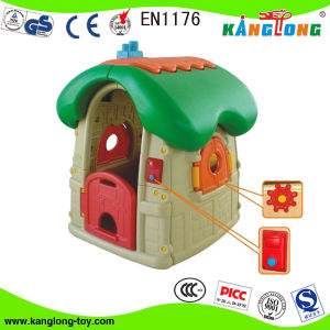 High Quality Colorful Plastic Children Playhouse (2011-151A) pictures & photos