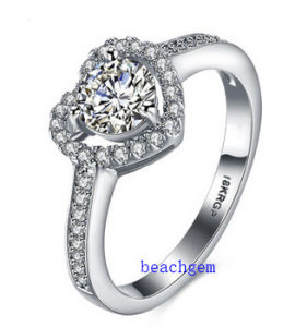 Hot Sell Jewelry- Cubic Zirconia Brass Rings (R0833)