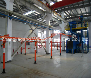 Machine Parts Powder Coating Machine pictures & photos