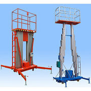 Double Mast Alloy Aluminum Hydraulic Work Platform pictures & photos