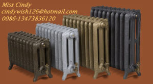 House Heating Designer Cast Iron Radiator with Decorative Pattern pictures & photos