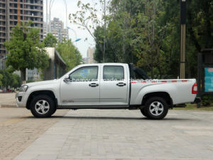 4X4 Petrol /Gasoline Double Cabin Pick up Car (Extended Cargo Box, Deluxe) pictures & photos