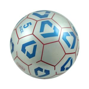 Hot Selling Kids Toys Inflatable Plastic Color Printing Soccer Ball