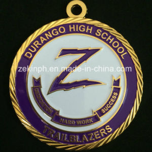 Custom Gold Medal for School Competition pictures & photos