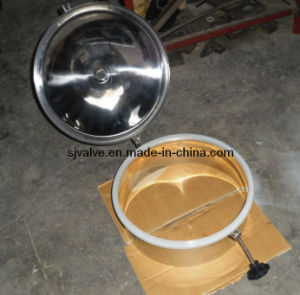 Stainless Steel Sanitary Round Manhole Cover pictures & photos