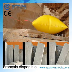 Durable Inflatable Polymer Air Push Cushion for Stone Quarry pictures & photos