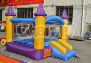 Wizard Bounce House Inflatable Moon Bouncer Slide Bouncy Castle pictures & photos