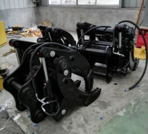 5f Hydraulic Grab for Excavator Hydraulic Grapple / Excavator Grab pictures & photos